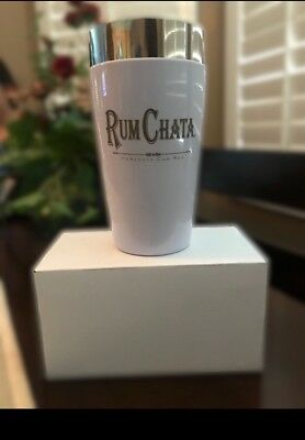 Rum Chata Cocktail Drink Shaker Stainless Rubber Insulated New!  Free Shipping