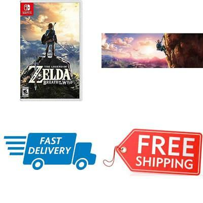Breath of the Wild Nintendo Switch The Legend of Zelda Standard Edition 1 Player