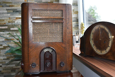 Tube Radio Volksempfänger DeTeWe VE 301G 1933 People's Receiver 德国管收音机复古