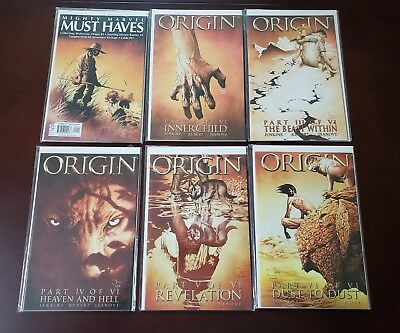Origin Run 2-6  2 3 4 5 6 Wolverine Mighty Marvel Must Haves 1, 6 books in total