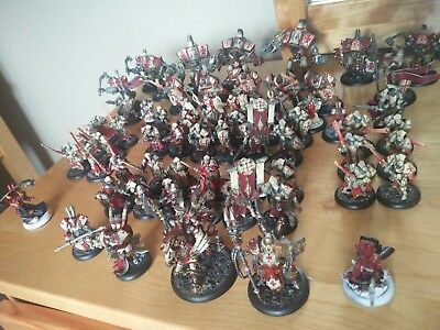 Warmachine Menoth Exemplar Army Lot - Painted - Free Shipping