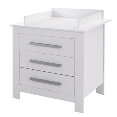 Baby Changing Table Diaper Station 3 Drawer Kid Infant Nursery Bedroom Furniture
