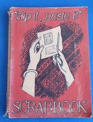 Vintage Scrapbook - Mostly Newspaper Comic Strips - Clippings  - Jokes-