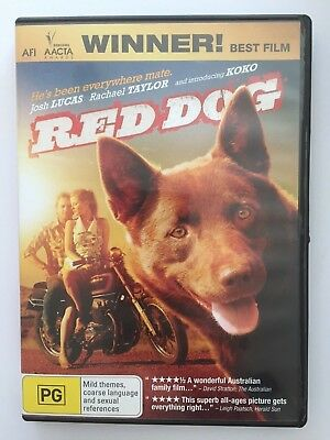 Red Dog R4 DVD Free Post