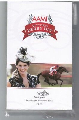 2006 Victoria Derby Day - Efficient - Race Book - Horse Racing