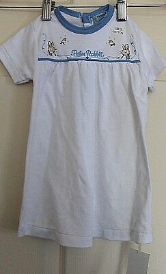 New with Tags Peter Rabbit Baby's embroidered nightdress size 3 months NEW