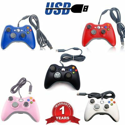 USB Game Pad Controller For Microsoft Xbox 360 Console / PC Windows -Wired  BP