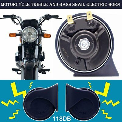 1 pair Universal 12V Motorcycle Car Auto Truck Vehicle Horn Waterproof Horn VW