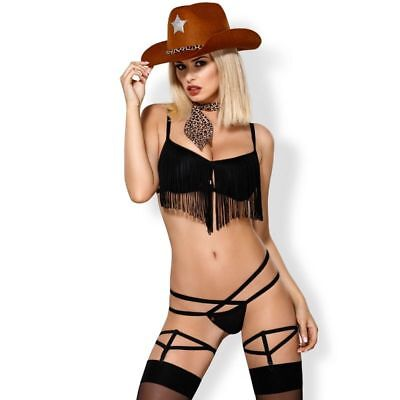 OBSESSIVE  COSTUMES OBSESSIVE - 832-CST-1 COWGIRL COSTUME S/M - Sexy clothes