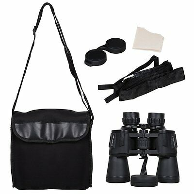 G4Free 10x50 Water &Shock Proof Binoculars Wide Angle~Night Vision Carrying Case