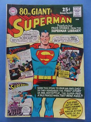 Superman 183 1966 80 Giant! G-18 Nice!!