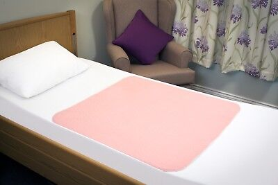 Incontinence Washable Bed Pad 85 x 90 cm Non Slip Reusable High Absorbency