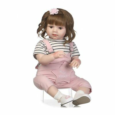 70cm Simulation Baby Reborn Doll Wearing Rompers Newborn Doll Photograph Props@@