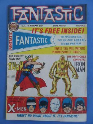 Fantastic 1 Odhams 1967 Journey Into Mystery 83 Tales Of Suspense 39 High Grade