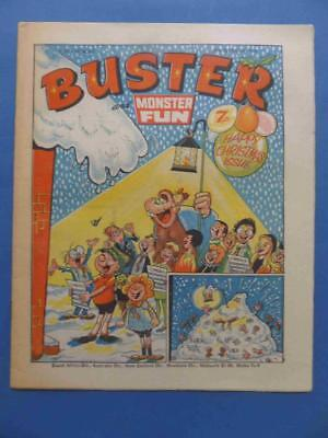 Buster And Monster Fun 25.12.76 Classic Christmas Cover! Lovely!