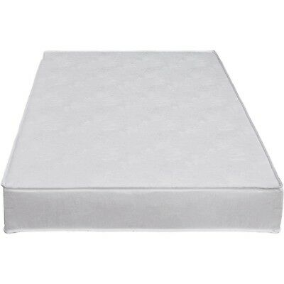 """Safety 1st Sweet Dreams Crib Toddler Mattress Baby Bed White Waterproof 5"""" NEW"""