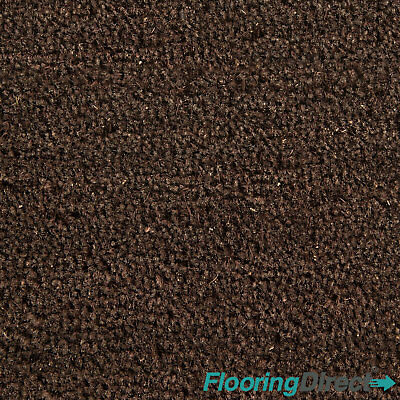 Brown Coir Matting Natural Coconut Reception Entrance Door Mat 17mm Any Size