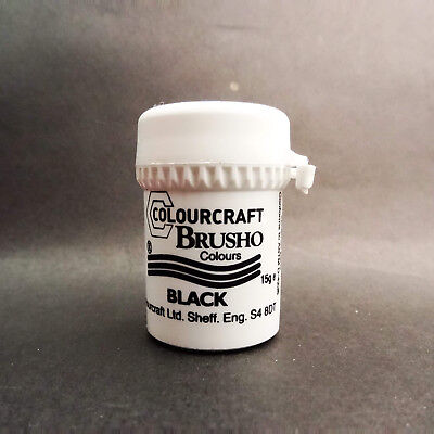 Colourcraft Brusho Colour (Small 15g) Watercolour Pigment Powder