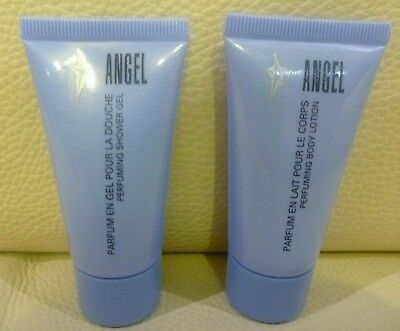 THIERRY MUGLER Angel Perfuming Shower Gel + Body Lotion, Brand NEW!