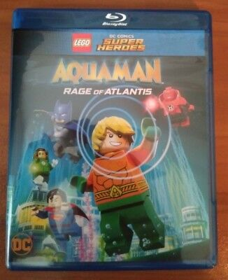 Lego DC Comics Aquaman Rage of Atlantis (Blu-ray and DVD) - No Digital