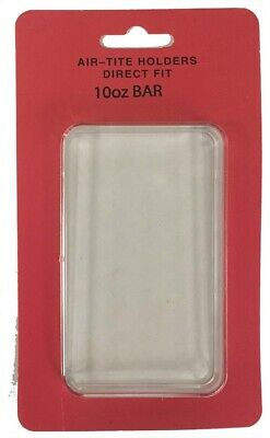 Official Airtite Holder Capsule Direct Fit 10oz Silver Bar Clear Protector