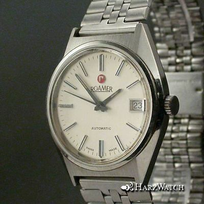 ROAMER  AUTOMATIC Herrenuhr 36 mm ca.1970