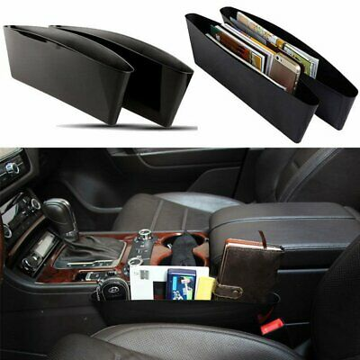2Pcs Car Seat Pouch Bag Storage Organizer Holder Phone Coin Ticket Accessory New