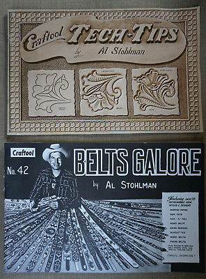 Leather Work - Al Stohlman / Craftool Belts Galore No. 42 and Craftool Tech Tips