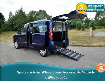 2013 Fiat Doblo, Petrol, Wheelchair Accessible Vehicle, WAV, Disabled Car.