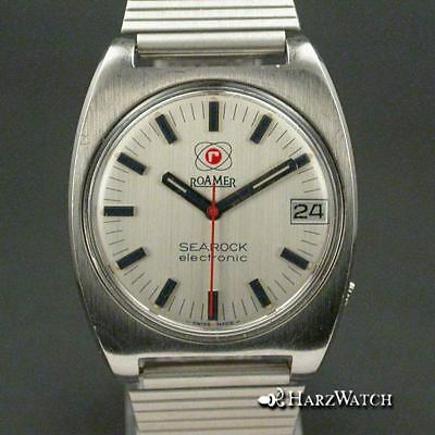 ROAMER SEAROCK electronic Herrenuhr 35 mm ca.1970