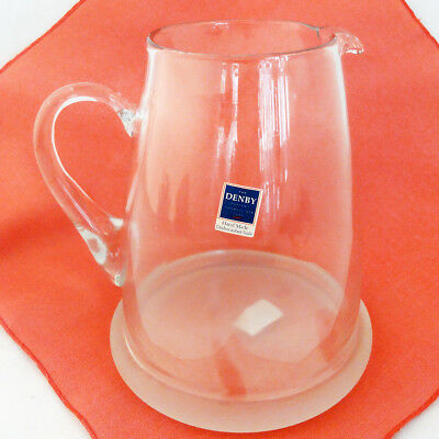 "ZEST by Denby Large Jug 8"" tall NEW NEVER USED made in Poland"