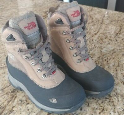 cdf10ee70f6 THE NORTH FACE Primaloft Womens Hiking Boots Waterproof Insulated Ankle  size 6