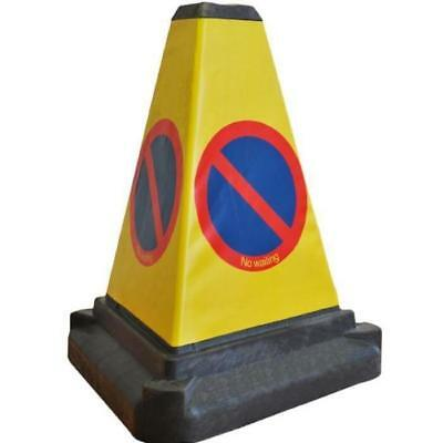 No Parking Cone / No Waiting Cones Bollard -  Fully UK Road Legal Cones