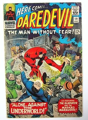 Daredevil #19 Man Without Fear Vol. 1 GD/VG  Marvel Silver Age Comics
