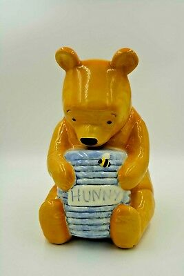 Pooh Bear With Hunny Pot Large Cookie Jar by Treasure Craft * Collectible
