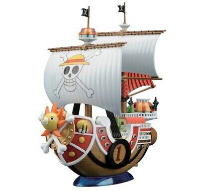 One Piece Anime Action Figures Pirates boat THOUSAND SUNNY Assembly PVC Toys