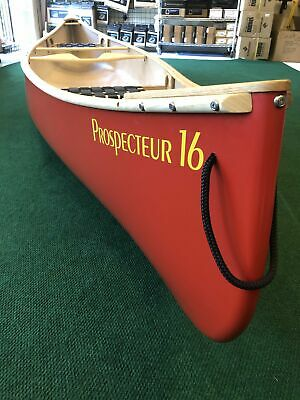 LIGHTWEIGHT CANOE ESQUIF Prospecteur 16 T-Formex with Wood