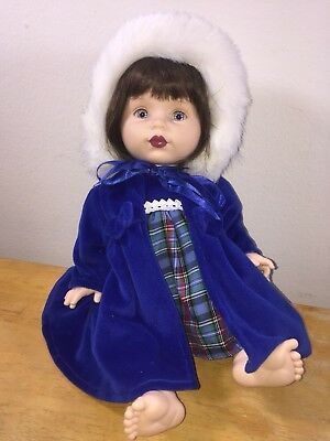 Gorgeous Baby So Beautiful Holiday Doll Matching Hat and coat Set