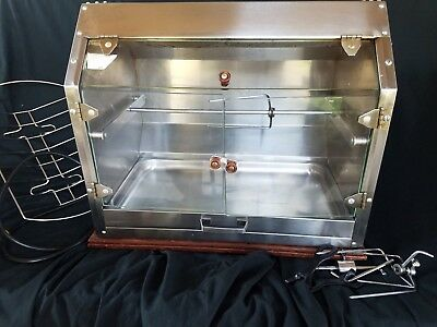 Town & Country S2R professional/commercial Rotisserie grill Hot Dog Broiler