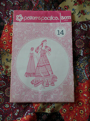 Vintage Hawaiian Patterns Pacifica sewing pattern 3011 size 14