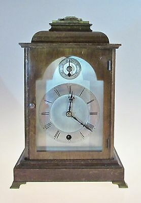 Antique Winterhalder & Hofmeier Black Forest Mantel Clock