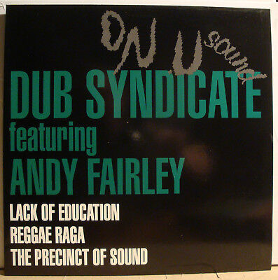 "12"" DUB SYNDICATE featuring ANDY FAIRLEY - Lack Of Education  1991"