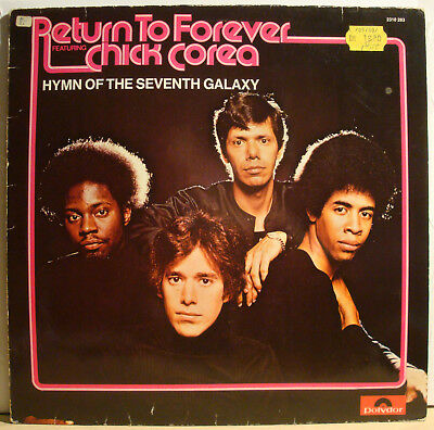 LP RETURN TO FOREVER - Hymn Of The Seventh Galaxy  1973  Chick Corea
