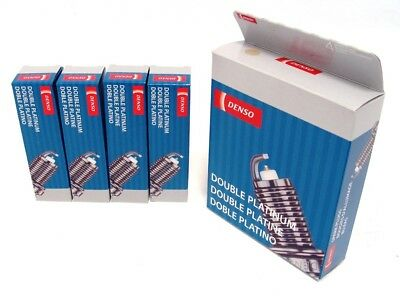 DENSO DOUBLE PLATINUM Spark Plugs TJ14RP15 5071 Set of 8