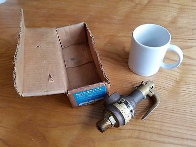 New Dresser Consolidated 154 Safety Relief Pressure Valve Set At 90 Psi 1 2