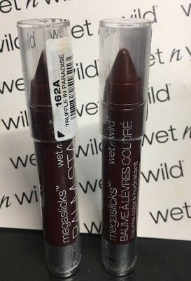 "2 Wet N' Wild  Megaslicks Balm Stain Crayon ""truffle In Paradise"" Sealed & New!"