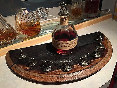 REAL Blanton's Blantons Display Bourbon Wood Barrel Head Stopper Cork Stave
