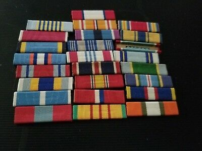 Usaf Ww2 -Current Ribbons 25 Ribbons High Power Ribbons Look Buy $12.50
