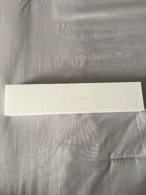Apple Watch Box only 38mm Series One With Extra Rose Band Piece