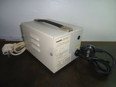 Vintage Engel VTG 50 Autotransformer 110V to 240V Step-up  500VA WITH CABLES